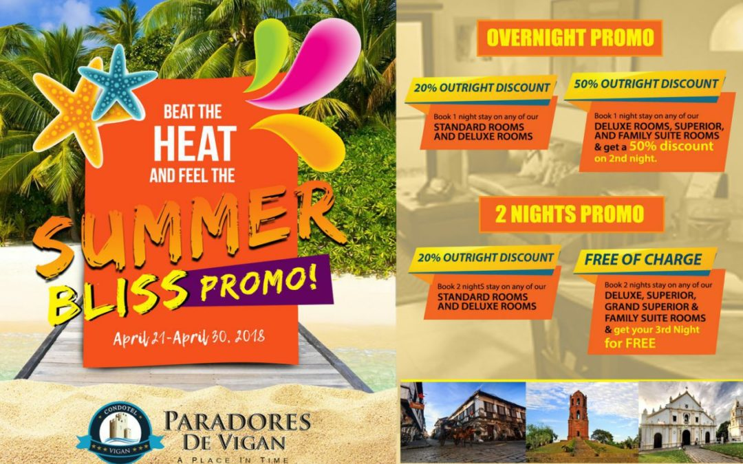 Beat the heat and feel the summer bliss with this indulgent staycation package!