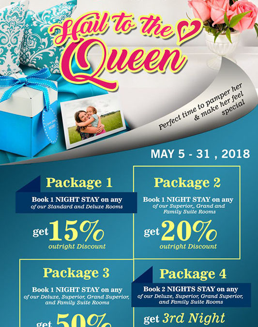 MOTHER'S DAY PROMO PACKAGE: